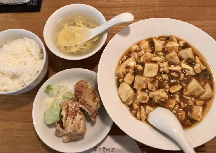 菜温 麻婆豆腐