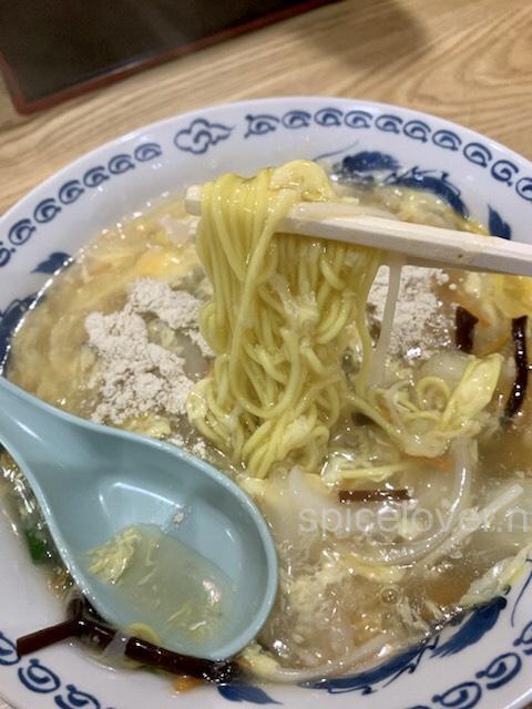 万寿 タール麺